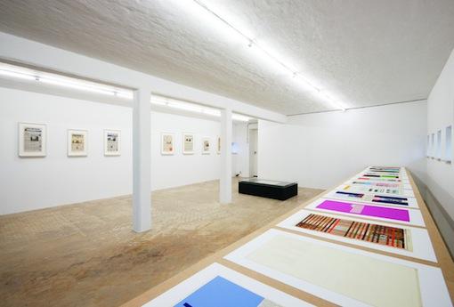 Installation view Next Day, Wilfried Lentz Rotterdam, 2015