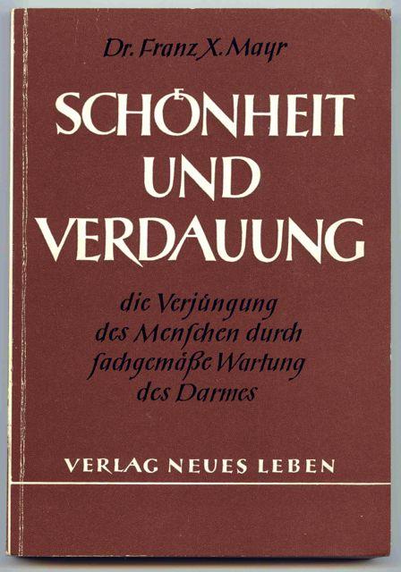Josef Dabernig - Dr. Franz Xaver Mayr's book