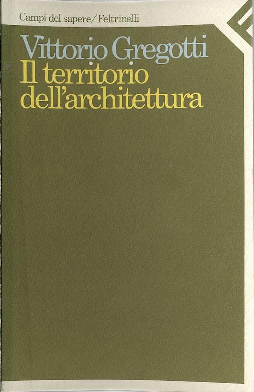 Josef Dabernig, handwritten copy of Vittorio Gregotti's book