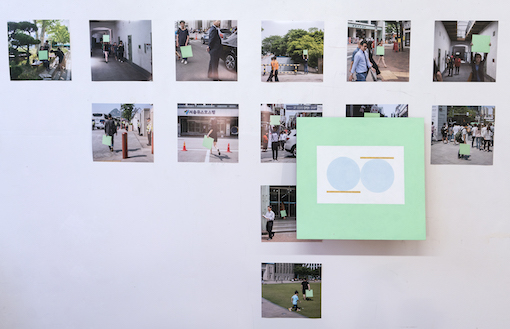 Doug Ashford, Photographs of Paintings Carried to Places where the Movement for Democracy in South Korea Happened, and Four Examples of what was Produced, 2016