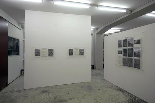 installation view T.P.E.S.#1/2/3/4 Wilfried Lentz Rotterdam