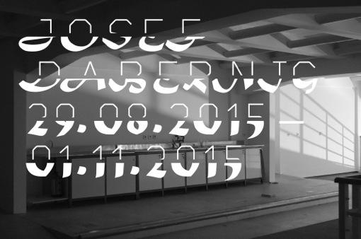 Josef Dabernig, Grids, August 29 - November 1st, 2015