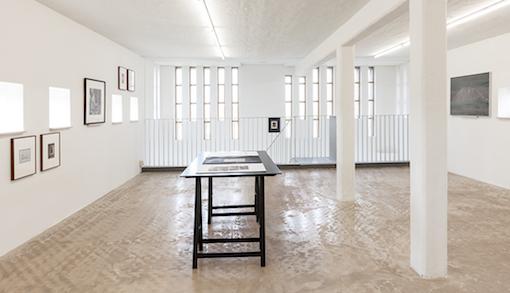 Installation view Spurensicherung, Wilfried Lentz Rotterdam 2017