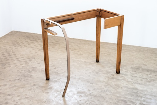 Vlatka Horvat, Set Right (Table Leg), 2016