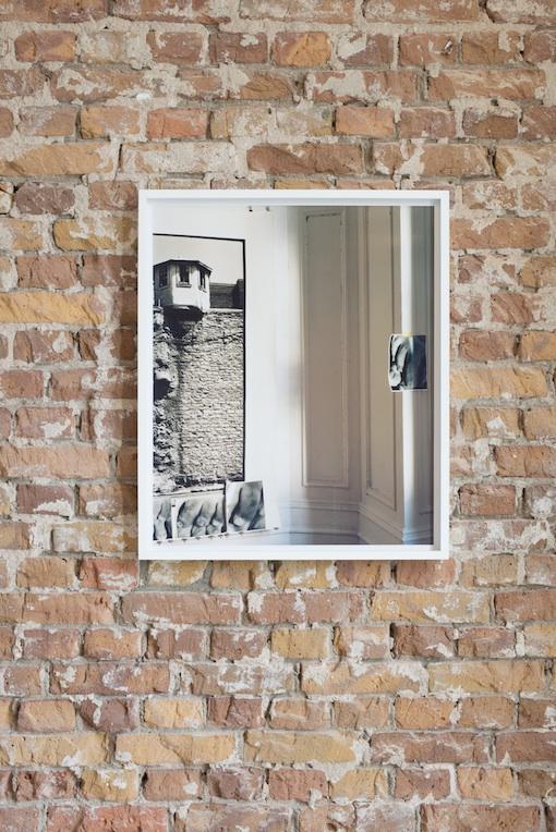 Moyra Davey, Oozing Wall (Toes), 2014