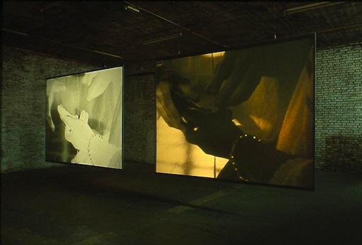 Wendelein van Oldenborgh, Studio Rotterdam 19-09-2002 3:30 to 7:15 pm (installation view b MAK Wien)