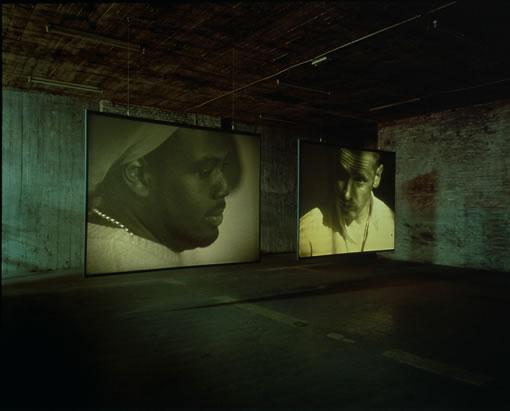 Wendelien van Oldenborgh, Studio Rotterdam 19-09-2002 3:30 to 7:15 pm (installationview a MAK Wien)